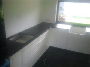 blaty kuchenne z granitu Zimbabwe Black