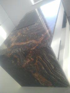 blaty z granitu Fusion Black